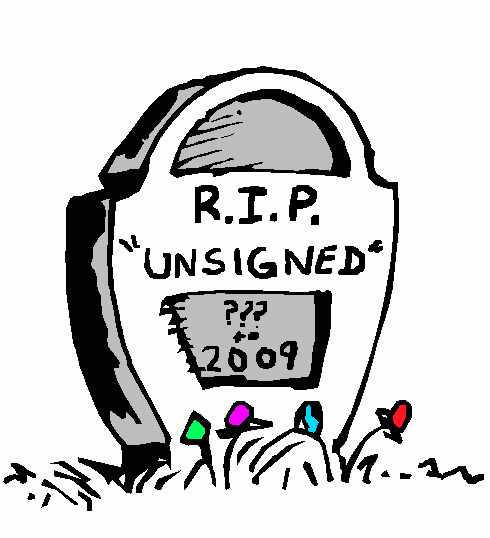 Unsigned Tombstone