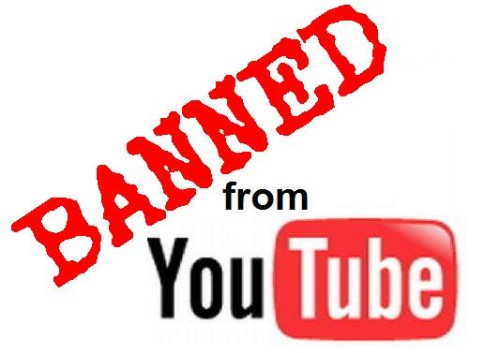 Banned by Youtube