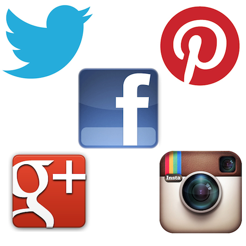 twitter-facebook-pinterest-google-instagram
