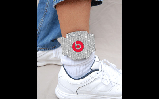 Cheef Keef ankle bracelets